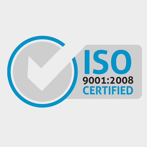 We are ISO 9001 : 2008 CERTIFIED